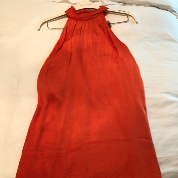 Naked Zebra Dresses & Skirts - Orange cocktail dress